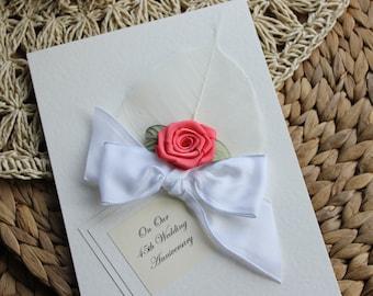 Handmade Birthday Card Daughter Mum Girlfriend Wife by Thymerose