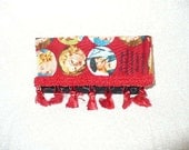 Nancy Drew Wallet,  Nancy Drew Coin Purse Made With Retired Nancy Drew Fabric Collectors Piece, Mystery Gift Made To Order