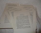 Paper Ephemera, Vintage Book Pages Ephemera, Vintage Paper, Ephemer Pack, Art Paper, Craft Paper, Vintage Nancy Drew Pages, Collage Paper