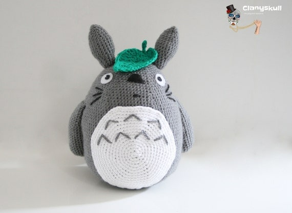 Amigurumi Totoro Ohje : Totoro amigurumi