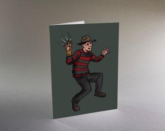 Freddy Krueger card
