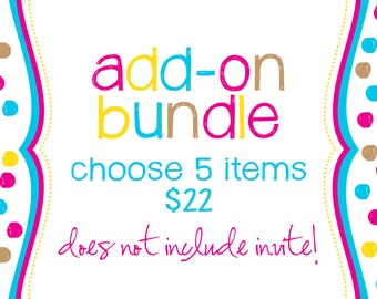 Party Package bundle - 5 Items