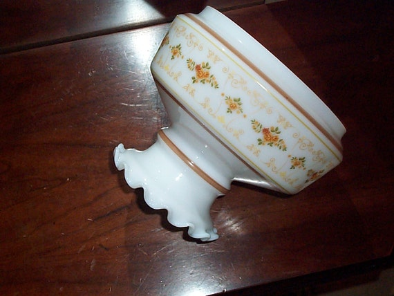 Quoizel Milk Glass Lamp Shade Vintage Hurricane Replacement
