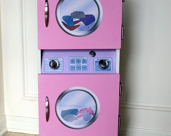 DIGITAL DOWNLOAD Laundry Center Decals For DIY Play Furniture