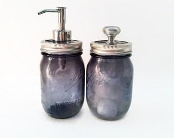 Mason Jar  Apothecary Set Soap Dispenser, Apothecary Jar