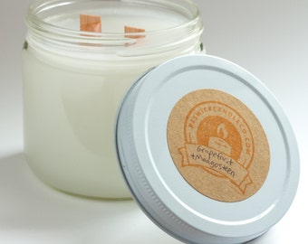 GRAPEFRUIT AND MANGOSTEEN wood wick candle