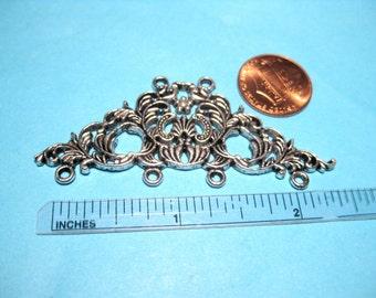 2pcs Antique Silver Chandelier Connector Link Connectors Earring Components