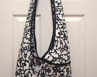 Boho Bag. Criss Cross Shoulder Purse.  Sling Bag, Fashionable, Shoulder Bag, High End Designer Fabrics