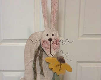 Rabbit, Easter Bunny, Primitive Bunny, Primitive Easter Decor, Primitive Decor, primitive rabbit, Easter Bunny, Easter decor, primitives