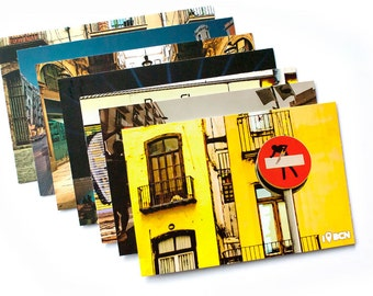 I was in Barcelona Postcards packs. Series: BCN Colors