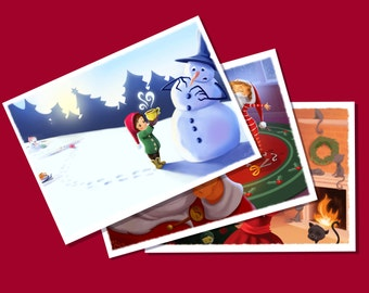 Holiday Trio Cardset