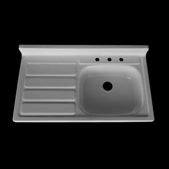 double kitchen sinks with drainboards 42 x 24 single bowl drainboard farmhouse sink 8812