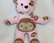 Baby memory bear keepsake baby cl othes teddy bear sleeper bear