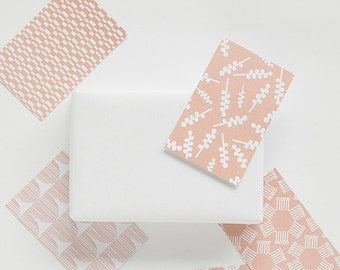 gift tags pink, 10 cards