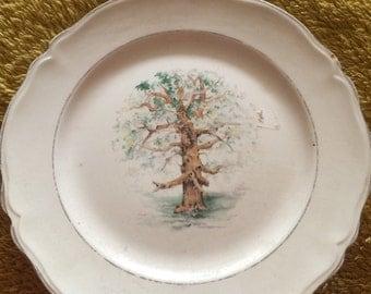Edwin M. Knowles China Tree Plate
