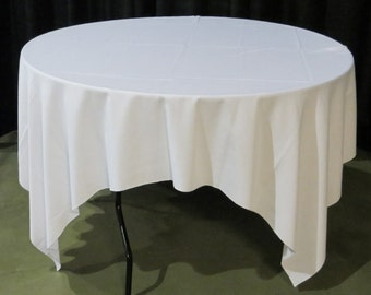 Table Cloth Cover Rental Quality, Round, 120-inch