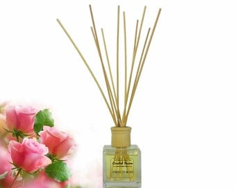 French Rose- French Fragrance - Gift Boxed Reed Diffuser