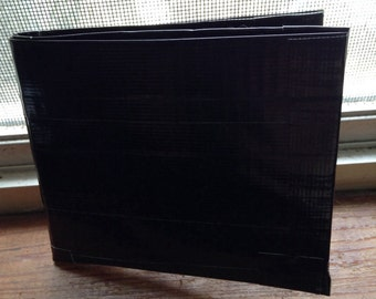 Mens Black Duct Tape Wallet