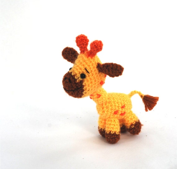 Amigurumi Hello Kitty Collection 1 : amigurumi giraffe crochet giraffe miniature giraffe toy