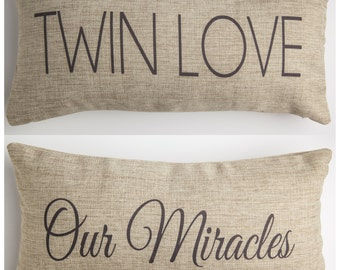 gift for twins,twins,twin baby shower,twin nursery,twin pillow,twin girls gift,twin boys gift,fraternal twins, identical twins,mom of twins