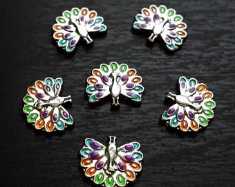 Peacock Floating Charm for Floating Lockets-Gift Ideas For Women
