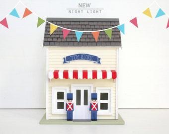 Toy Store - Night Light- Handmade