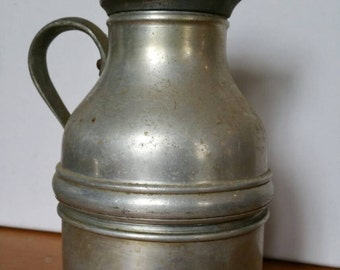 Vintage Thermos Vacuum Jug With Stopper From 1960s