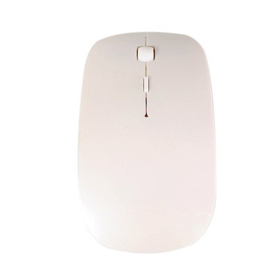 TopCase White USB Optical Wireless Mouse for Macbook (pro , air) and All Laptop