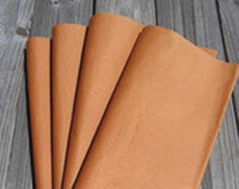 """Tissue Paper / 24 Sheets Orange Tissue Paper 20""""x30""""/Bulk Premium Tissue Paper"""