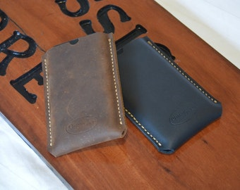 Hand Made Custom Leather Phone Pouch