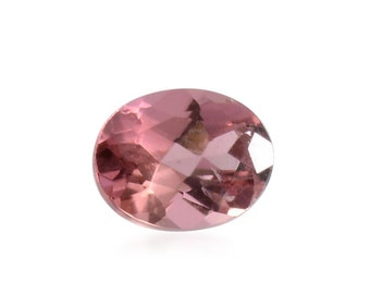 Pink Tourmaline Oval Cut Loose Gemstone 1A Quality 5x4mm TGW 0.25 cts.
