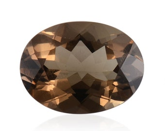 Brazilian Smoky Quartz Loose Gemstone Oval Cut 1A Quality 10x8mm TGW 3.15 cts.