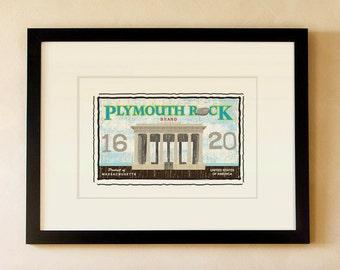 Plymouth Rock - Massachusetts