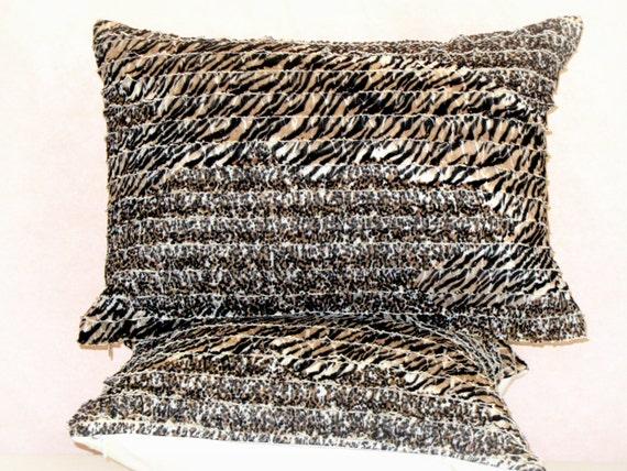 Animal Print Lumbar Pillows : On sale 30% off Leopard lumbar pillow cover 14x20 by SABDECO