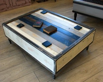 Handmade Reclaimed Wood Rustic Coffee Table
