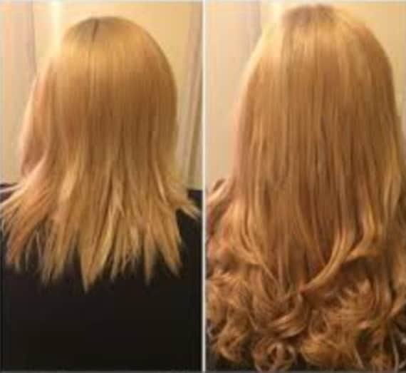12 long halo flip in hexy light strawberry blonde 27
