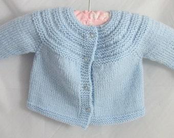Blue Baby Sweater