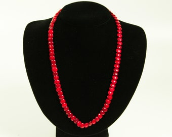 Very Red Coral Necklace
