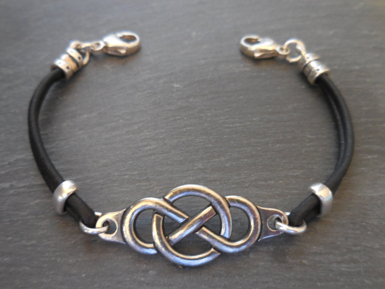 id bracelet allergy bracelet leather by