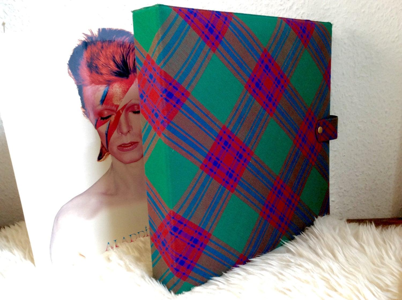 Vintage Vinyl Record Album Folder Lp Storage Hardcover Case