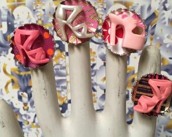Barbie Shoe Rings