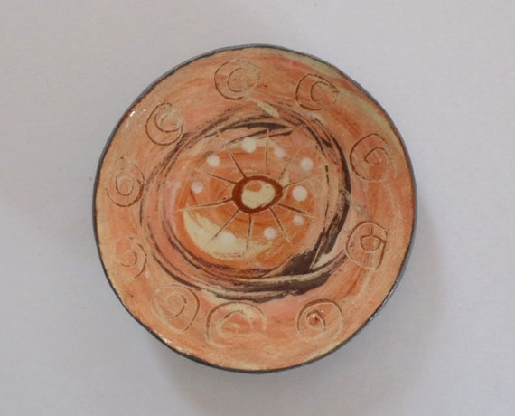Items Similar To Handmade And Hand Thrown Pottery Plate