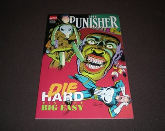 Punisher Die Hard In the Big Easy, GN (1992), Marvel Comics