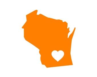 Wisconsin Sticker Etsy - Custom vinyl decals madison wi