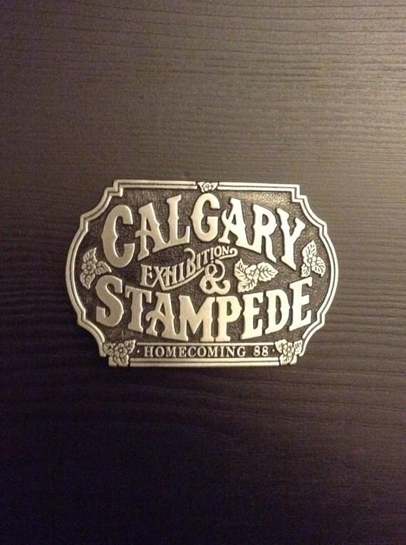 Belt Buckle Calgary Stampede 1988 Homecoming