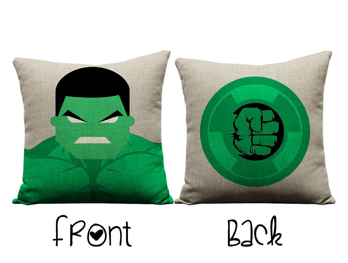 Hulk pillow the hulk Avengers incredible hulk by GEEKandtheCHIC