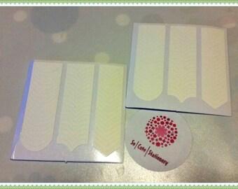 Nail guides Nail Vynils for nail art x 2 packs
