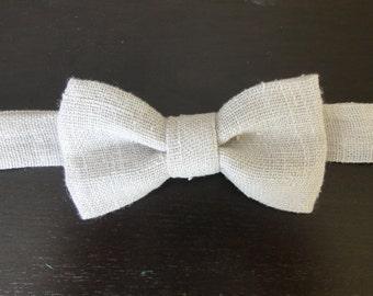 Light Gray Bow tie