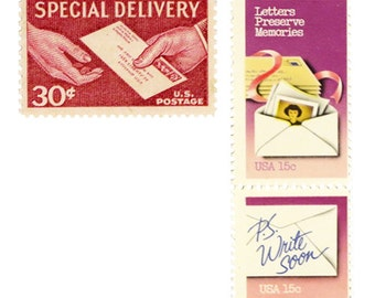 Special Delivery - Pink Postage