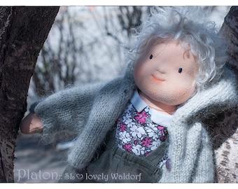 Waldorf doll: boy Platon